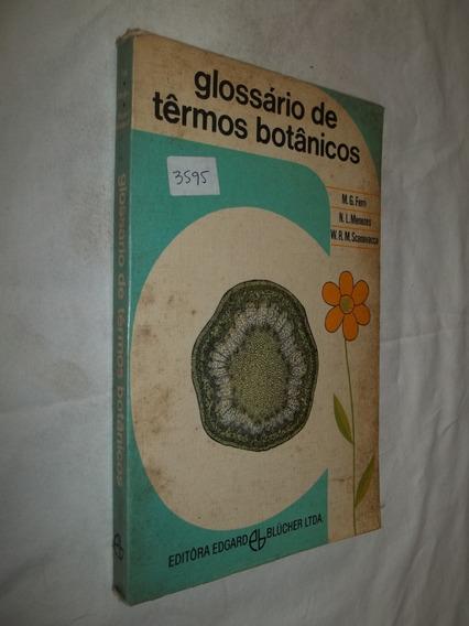 Livro - Glossário De Termos Botânicos - M. G. Ferri