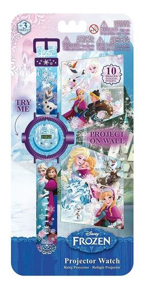 Relógio Digital Projetor Frozen Disney Intek