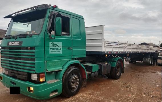 Scania R-112 Ma 4x2 - 82/83 - Cavalo Toco + Carreta