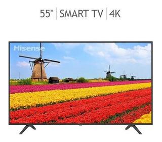 Pantalla Smart Tv 4k Ultra Hd Led 55 Pulg 55h6f Hisense