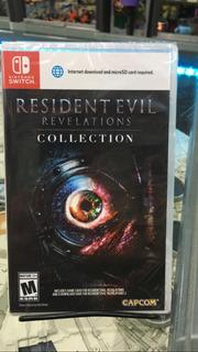 Resident Evil Revelation Collection Swicht Fisico Nuevo