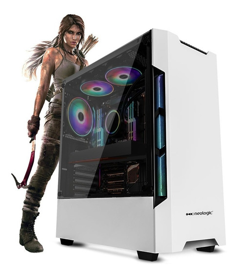 Pc Gamer Neologic Nli81330 I3-8100 8gb (rx 570 4gb)ssd240gb