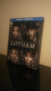 Blu Ray Serie Gotham Season 1 / Temporada 1 (con Cover)