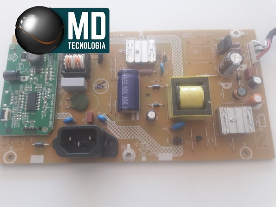 Placa Da Fonte Monitor Philips 196v3l Led Lcd 18.5