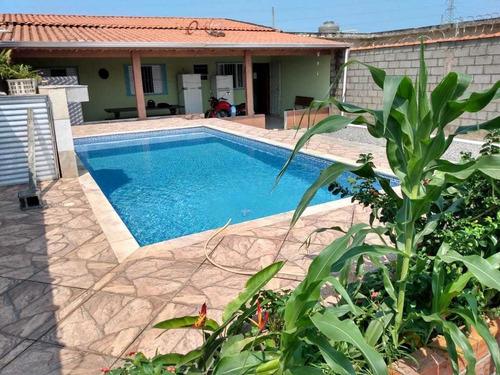 Casa - Edicula Com Piscina No Litoral - Ca349s - Itanhaém/sp