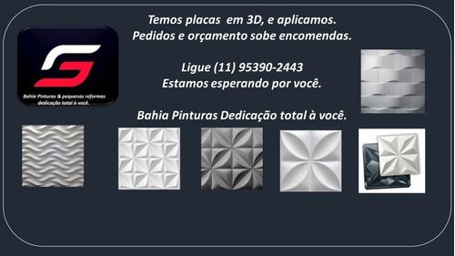 Placas 3d Em Gesso