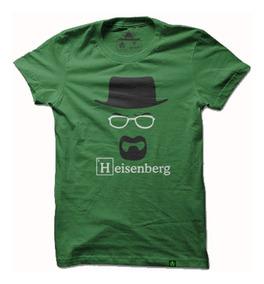 Camisa Camiseta Anime Geek Breaking Bad Heisenberg Masculino
