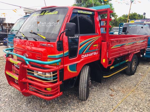 Super Oferta Camion Daihatsu Delta 1992 Cama Cortta 100% New