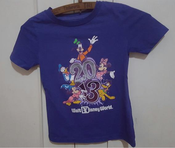 Remera Nena Disney Violeta Talle 8