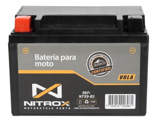 Imagen 1 de 2 de Batería Nitrox  Moto Pulsar 200 Ns