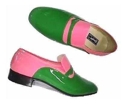 Sapato Social Masculino Claudiu´s Couro Bicolor Ref. 202