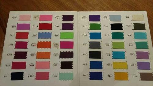 Lycra Seda Tricot 50 Colores Y Blanco Apto Sublimable