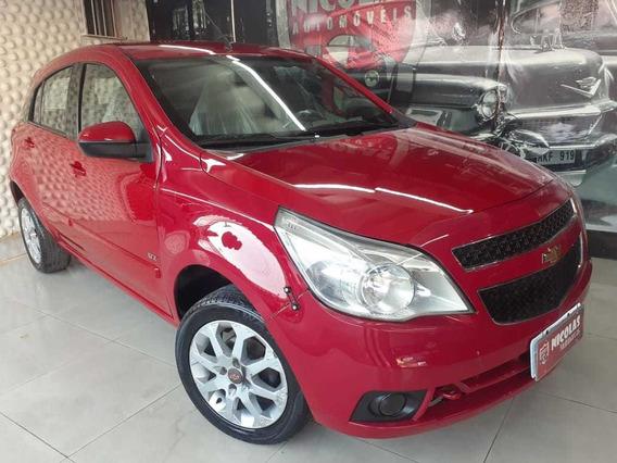 Chevrolet Agile Lt 1.4 Manual Vermelho - 2010