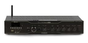 Amplificador Slim 3500 App,blu,sd,usb,aux,mic, Controle