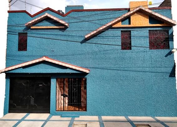 En Venta Propiedad Con 2 Casas En El Predio, Nezahualcoyotl