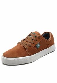 Dc Shoes Tênis Couro Dc Shoes Tonik Caramelo