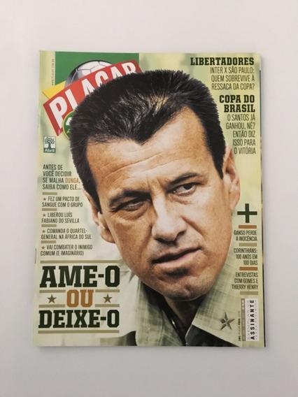 Revista Placar N° 1343 Junho 2010 Dunga Inter São Paulo