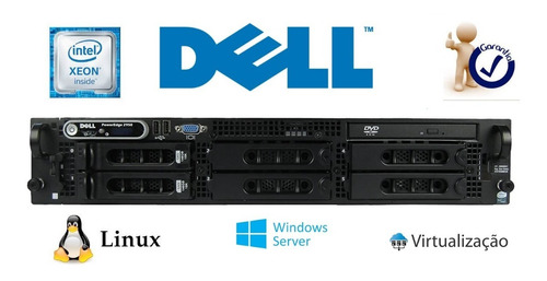 Servidor Dell 2950 -  Xeon Dual Core 4gb Sata 250gb Seminovo