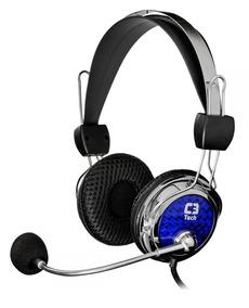 Fone De Ouvido Headset Gamer C3tech Pterodax Pc Notebook