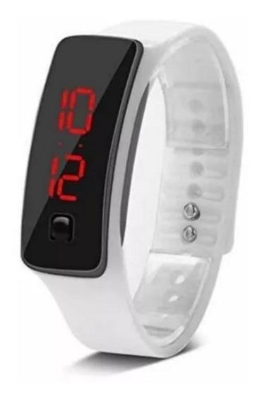Reloj Led Digital Pantalla Tactil De Moda Deporte Silicon