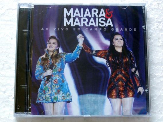 Cd Maiara & Maraisa Ao Vivo Em Campo Grande Original Lacrado