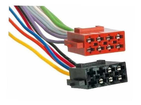 Ficha Adapador Stereo Philco Philips 8x2 Contactos Ci 321525