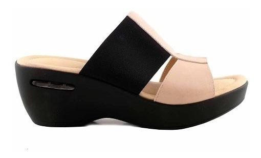 Sandalia Charol Mujer Zuecos Briganti Zapatos - Mcsu48016