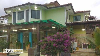 Casa Residencial À Venda, Vale Dos Cristais, Macaé. - Ca0205