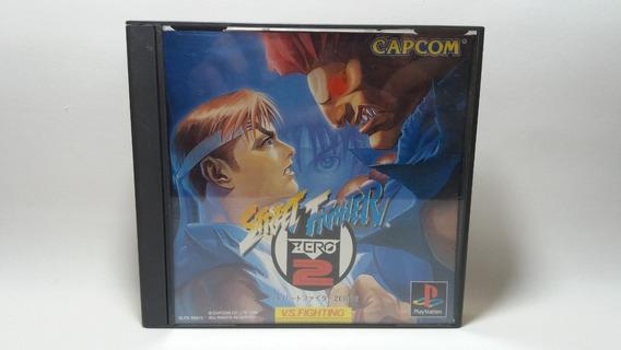 Street Fighter Zero 2 - Original Japonês - Ps1