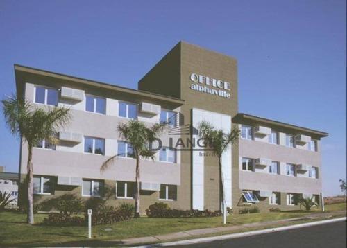 Sala, 46 M² - Venda Por R$ 280.000,00 Ou Aluguel Por R$ 1.000,00/mês - Alphaville - Campinas/sp - Sa1771