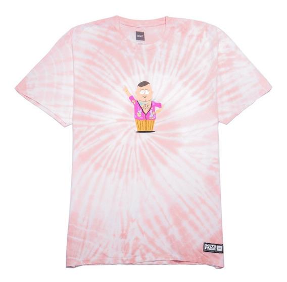 Playera Huf South Park Big Gay Al Tie Dye Pink Original