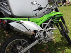 Moto Kawasaki Klx 150 Verde 2016 Ganga