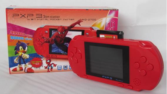 Video Game Portatil Pxp3 16 Bit - Original