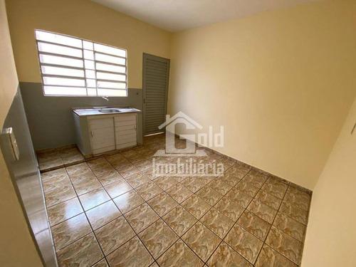 Imagem 1 de 4 de Edícula Com 1 Dormitório Para Alugar, 60 M² Por R$ 700,00/mês - Jardim Anhangüera - Ribeirão Preto/sp - Ed0001