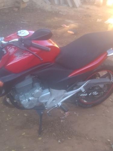 Moto Honda Cb 300 Vermelha Documentos Em Dia  Freio A Disco