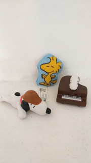 Lote 3 Snoopy Burguer King Piano Detective