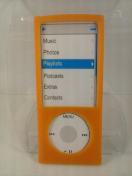 Capa Silicone Laranja Nano 5 5º Geração Apple iPod