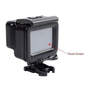 Caixa Estanque Preta Gopro Hero 7 6 5 Tampa Touch Screen