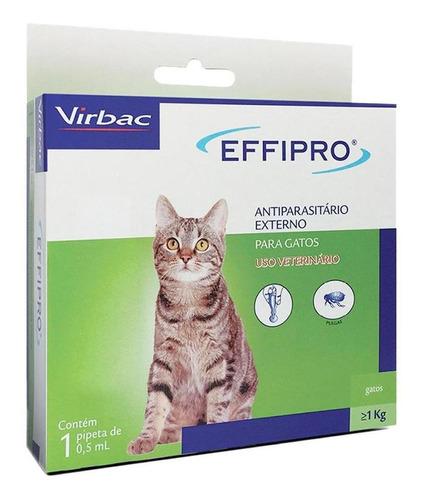 Antipulgas Effipro Gatos 0,5ml Virbac