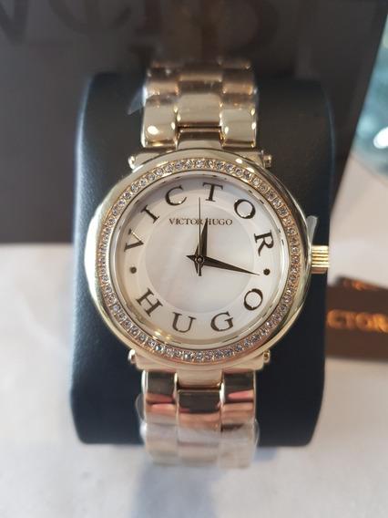 Relógio Feminino Victor Hugo - Vh10076lsg/30m