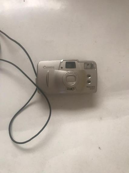 Câmera Fotográfica Canon Prima Quick Super Repa Com Defeito