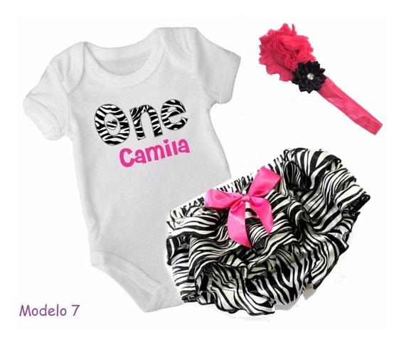 Bloomer C/ Pañalero Personalizado Bebé Envìo Incluìdo!!
