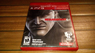 Metal Gear 4 Playstation 3 Ps3