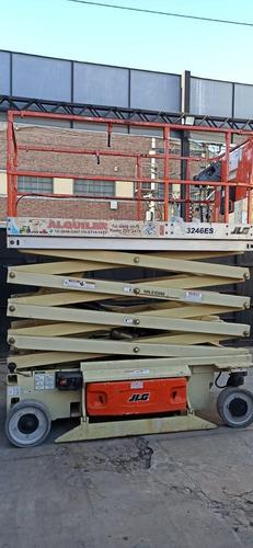 Plataforma Elevadora Tipo Tijera Jlg3246es 12mts