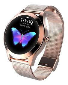 Smartwatch Kingwear Kw10 64kb Ram 512kb Rom Ip68-oro Rosa