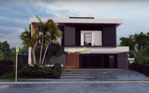 Imagem 1 de 22 de Casa De Luxo Em Condominio Priveligiado -jardim Do Golfe - São José Dos Campos - Ca2064