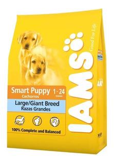 Iams Smart Cachorros Grandes/gigantes X 15 Kg