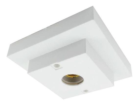 Plafon Inteligente Quadrado Branco Interneed