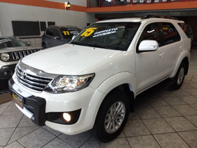 Toyota Hilux Sw4 Sr Flex 2015/2015 Branca Mecânica 32000km