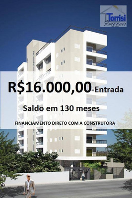 Apartamento Duplex Em Praia Grande, 01 Dormitório, Sala Com Sacada Gourmet. Prédio Com Lazer Na Ocian Ad0002 - Ad0002